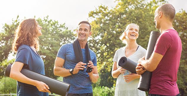 Benefícios de praticar exercícios ao ar livre